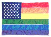 gay american flag